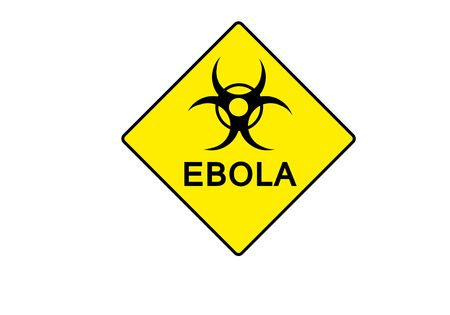 h5n1: yellow symbol for BIOHAZARD with possible text