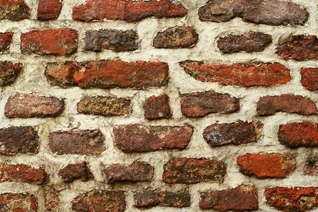 bonita pared de época antigua en el centro de Praga Foto de archivo