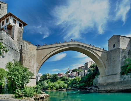 nice old bridge in Mostar -