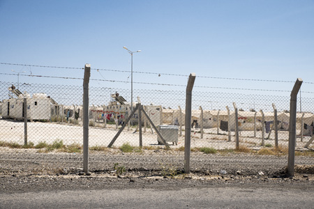 Refugee camp for syrian people in Turkey. September 7, 2017. Suruc, Turkey Editorial