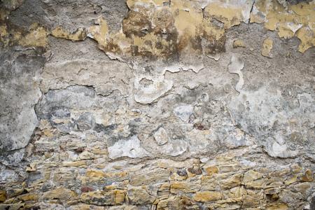 vintgage wall close to Prague caste in Czech republic