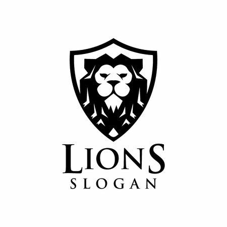 lions logo design