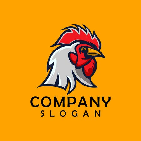 chicken logo design 스톡 콘텐츠 - 121421468