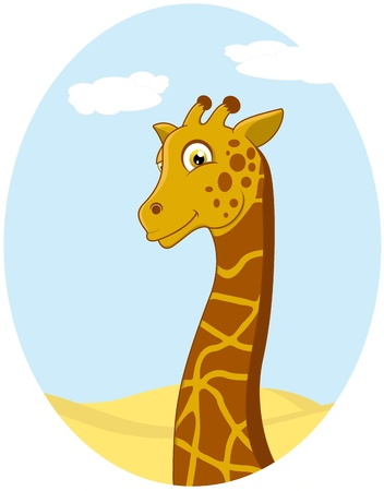 Vector Illustration Of Giraffe Stock Vector - 17438171