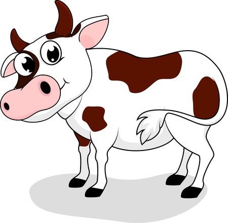 Happy Cow  Vector