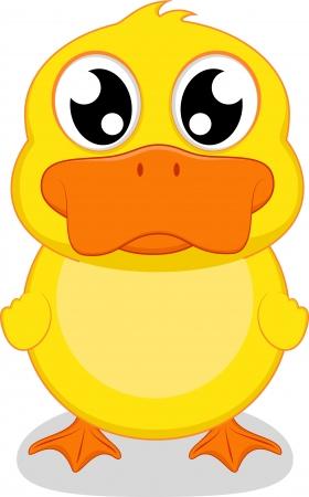 Glückliche Illustration Of Happy Duck