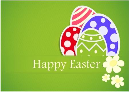 describe: Vector Illustration Of Easter Gift Paper