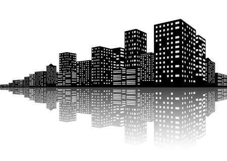 City Skyline Stock Vector - 19142880