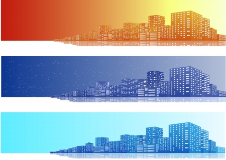 Cityscapes Banner Vector