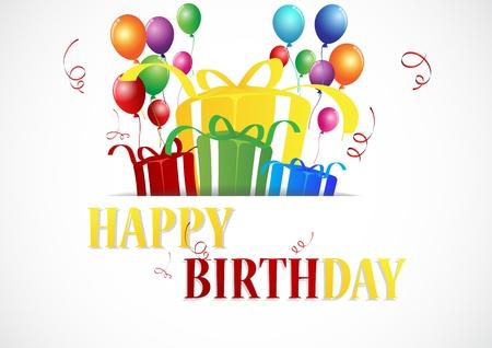 vouchers: Birthday celebration  Illustration