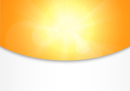 sunstroke: summer abstract background