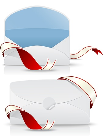filing tray: Illustration Of letter