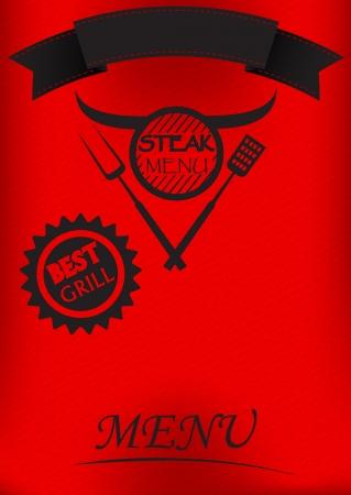 haunch: Steak Menu Poster