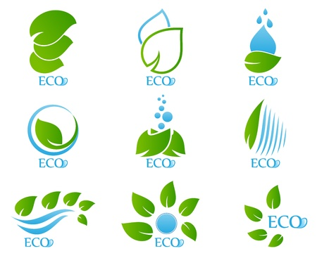 Vector Illustration of Ecology icon set 05 Vector