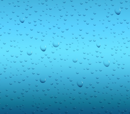 refreshed: Vector Water drop background