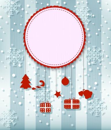 new yea: Christmas greeting card