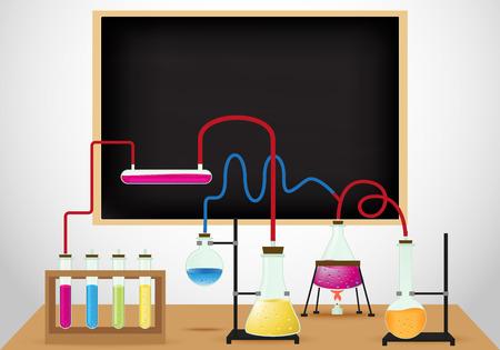 chemistry lab: Chemical laboratory background