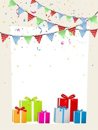celebration background: Birthday celebration background