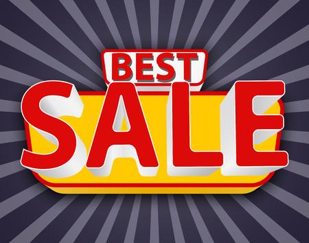 the best: Best sale, best sale banner