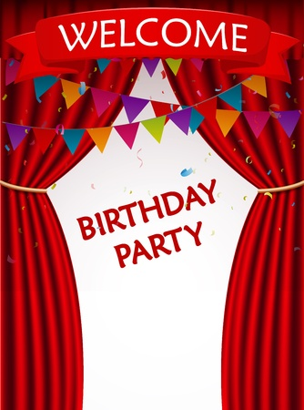 birthday party: Birthday party invitation