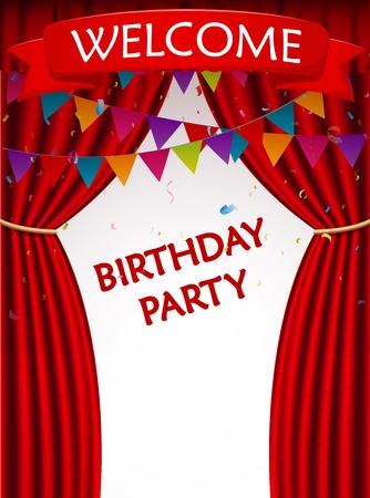 invitacion fiesta: invitación de la fiesta de cumpleaños