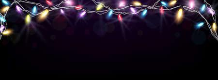 preparation: Christmas light background