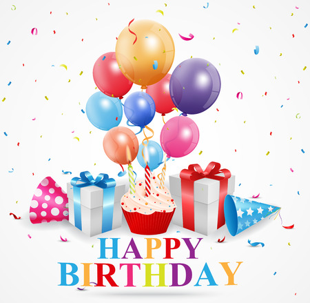 felicitaciones cumpleaÑos: Tarjeta de felicitaciones del feliz cumpleaños