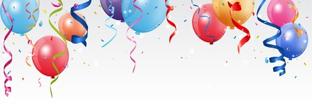 Birthday and celebration banner