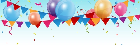 celebration: Birthday and celebration banner