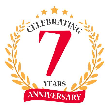 celebration: Happy Anniversary celebration design