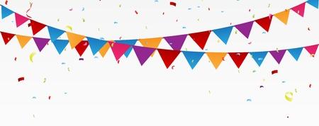 celebration: Birthday celebration banner Illustration