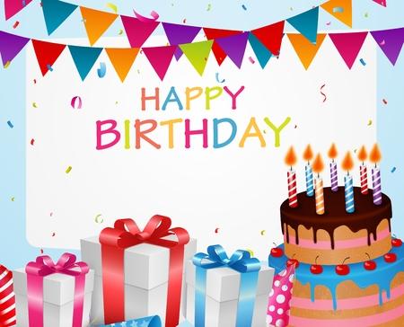 inflatable ball: Birthday celebration background