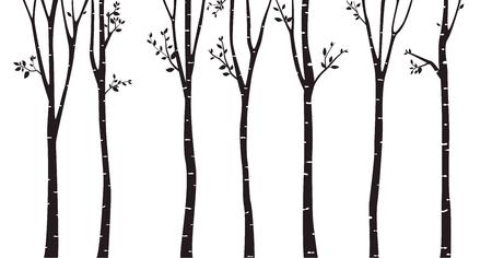 13 357 birch stock vector illustration and royalty free birch clipart rh 123rf com birch tree leaves vector birch tree vector free