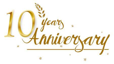 happy: Happy Anniversary celebration design