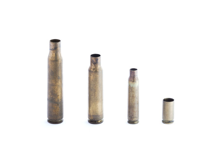 luger: several 9mm hollow point bullets