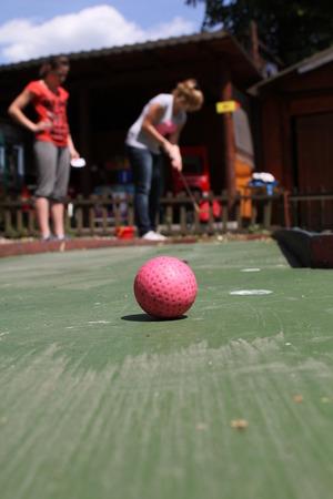 teen golf: golf miniatura