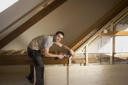 attic: Reconstruction of the attic
