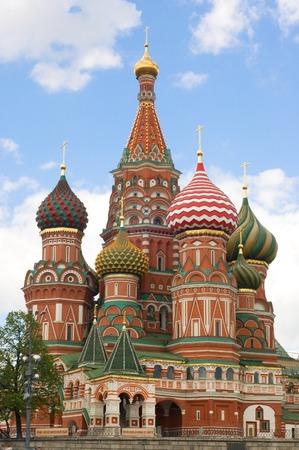 red square moscow: Catedral de Santo Basils, cuadrado rojo, Mosc�, Rusia Foto de archivo