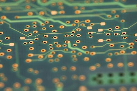 computer component: close up of computer component - circuit board