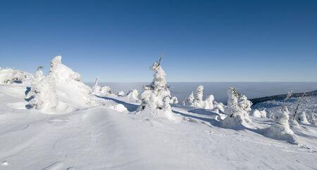 krkonose: winter mountains, Krkonose, Czech Republic