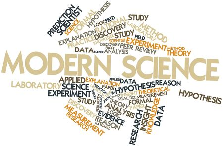 Abstract word cloud for Modern Science with related tags and terms Stock Photo - 15801874