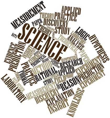 Abstract word cloud for Science with related tags and terms Stock Photo - 15830000