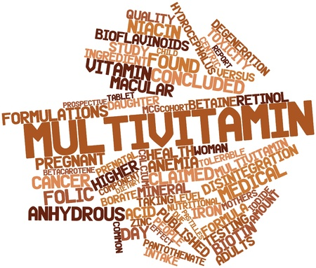 correlate: Abstract word cloud for Multivitamin with related tags and terms