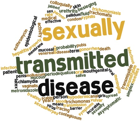 Abstract word cloud for Sexually transmitted disease with related tags and terms Stock Photo - 15996461