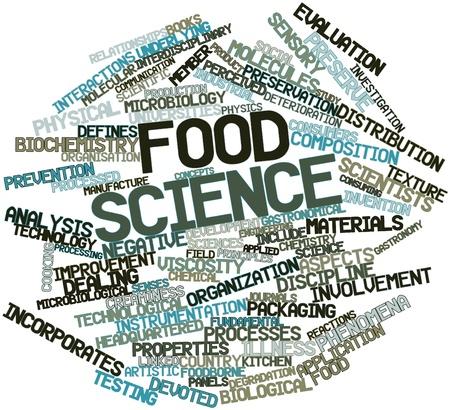 interactions: Abstract woordwolk voor voeding wetenschap met gerelateerde tags en voorwaarden