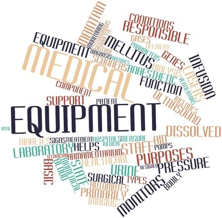 signos vitales: Nube palabra abstracta para el equipo médico con etiquetas y términos relacionados