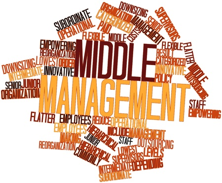 categorized: Abstract word cloud for Middle management with related tags and terms