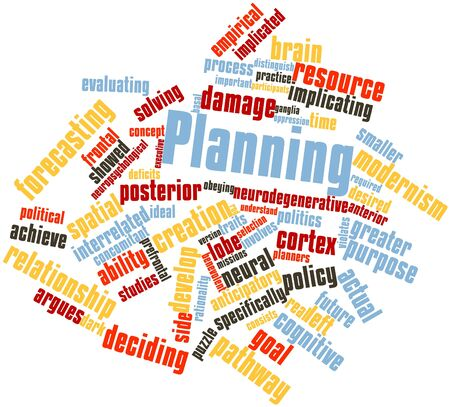 implicated: Abstract word cloud for Planning with related tags and terms