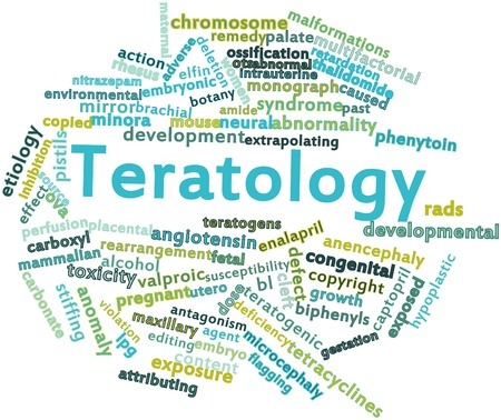 flagging: Abstract word cloud for Teratology with related tags and terms