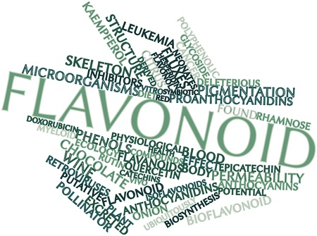 intracellular: Abstract word cloud for Flavonoid with related tags and terms